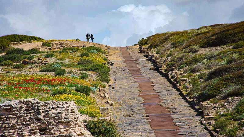 tharros roman road