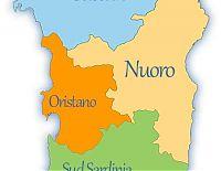 sardinia provinces map