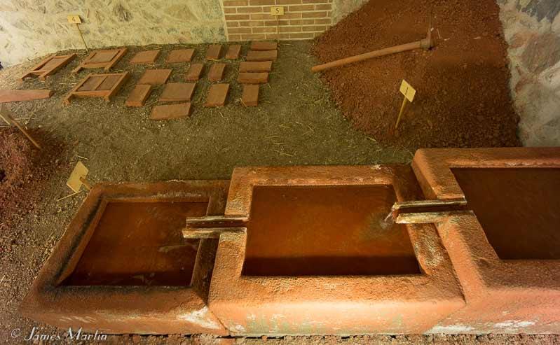 sardara clay tile production