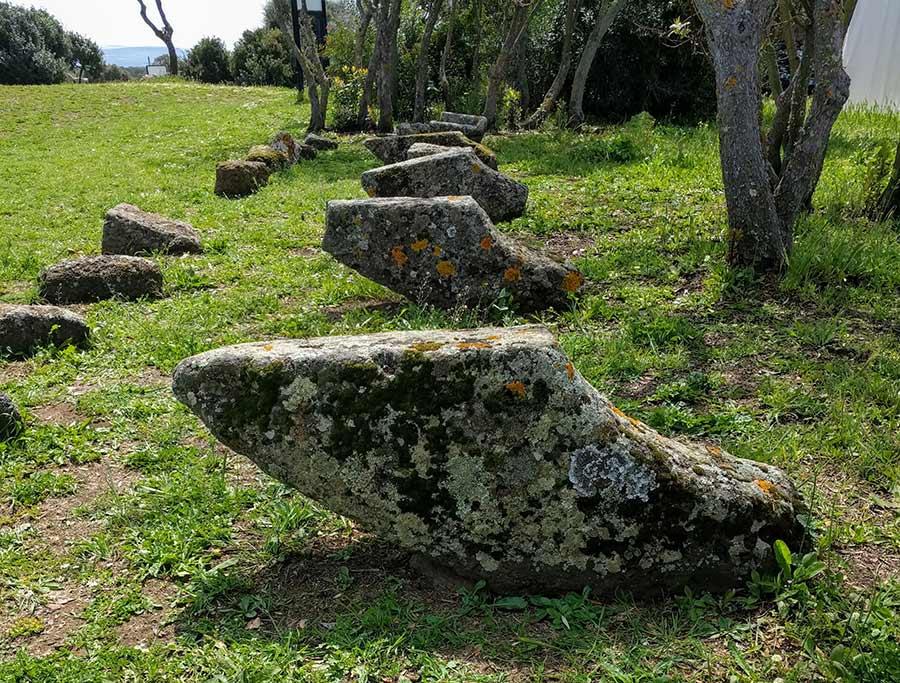 nuraghe losa corbel stones