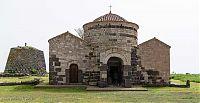 santa sabina church and nuraghe