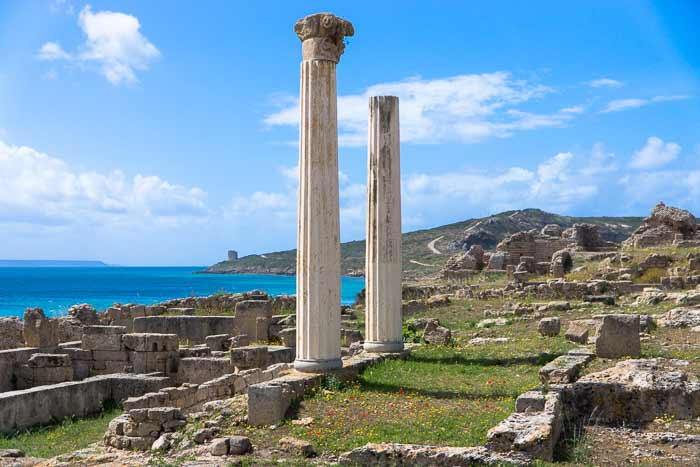 tharros columns
