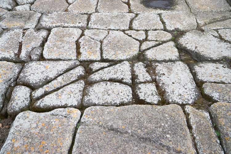fordongianus pavement